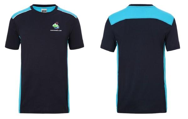 Herren T-Shirt COLOR mit EMC-Schriftzug