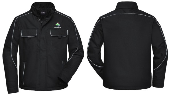 Unisex Softshell Jacke SOLID mit Logo