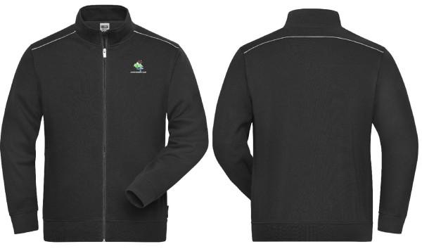 Herren Sweat Jacke SOLID mit Eura Mobil Club Logo